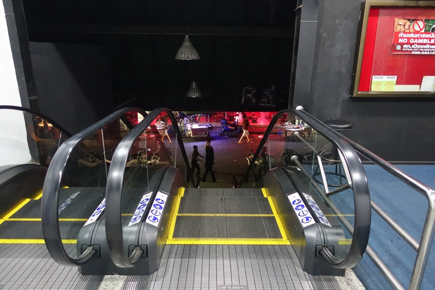 Marine Disco Escalators