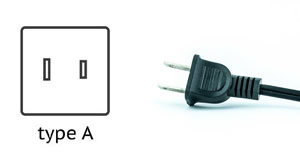 Thailand Power Plug - Type A