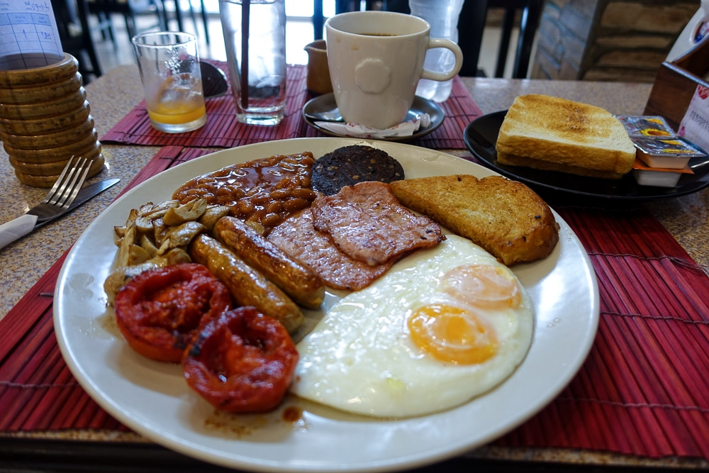 Jocky's Restaurant Pattaya - Big Breakfast