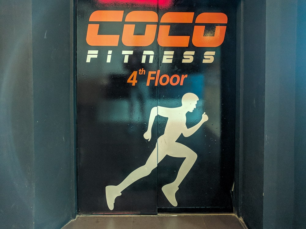 Photo of Coco Fitness Elevator at Mike Shopping Mall in Pattaya