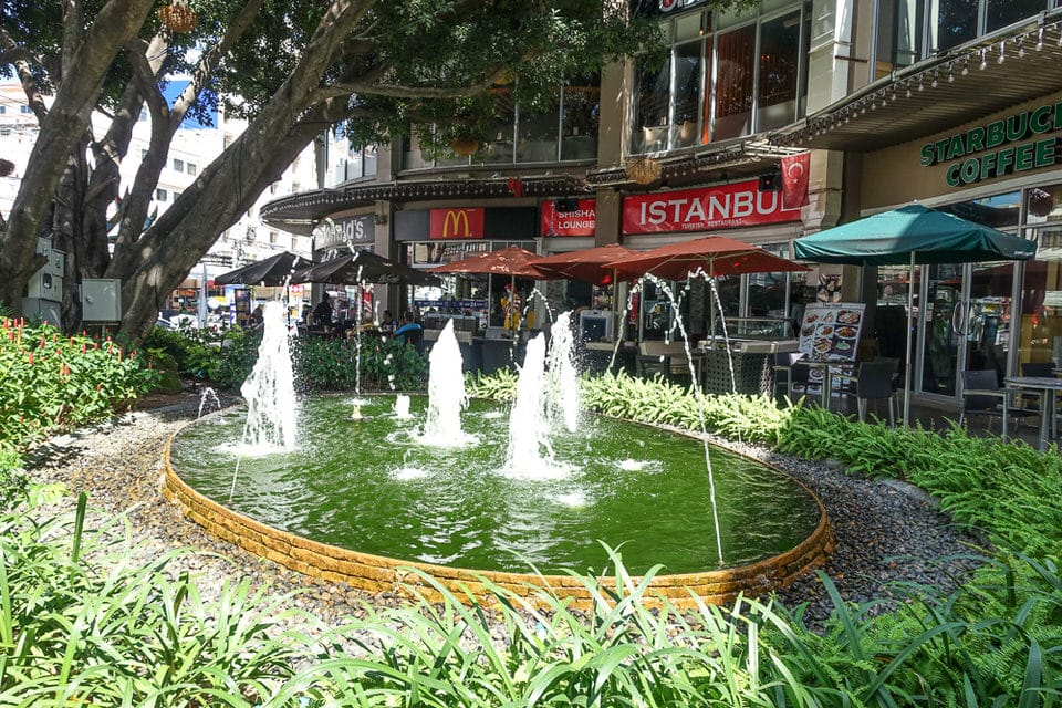 Restaurants at Pattaya Avenue mall
