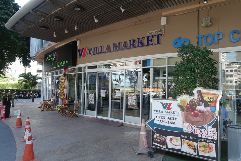 Villa Market at Pattaya Avenue mall