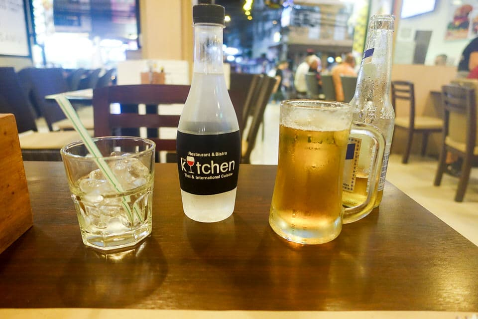 Beer at The Kitchen Pattaya