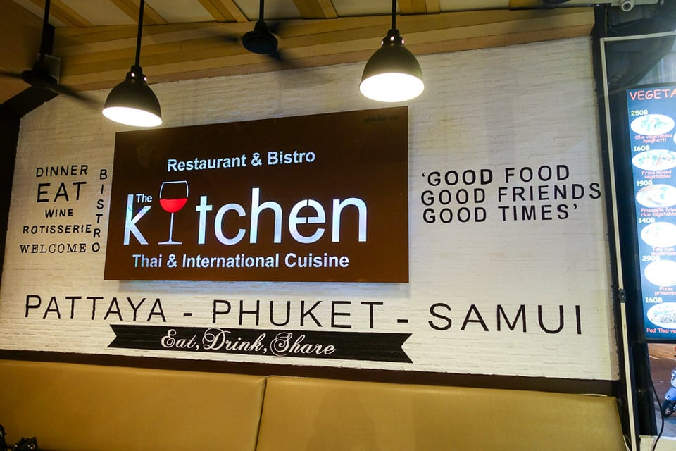 The Kitchen Pattaya Restaurant