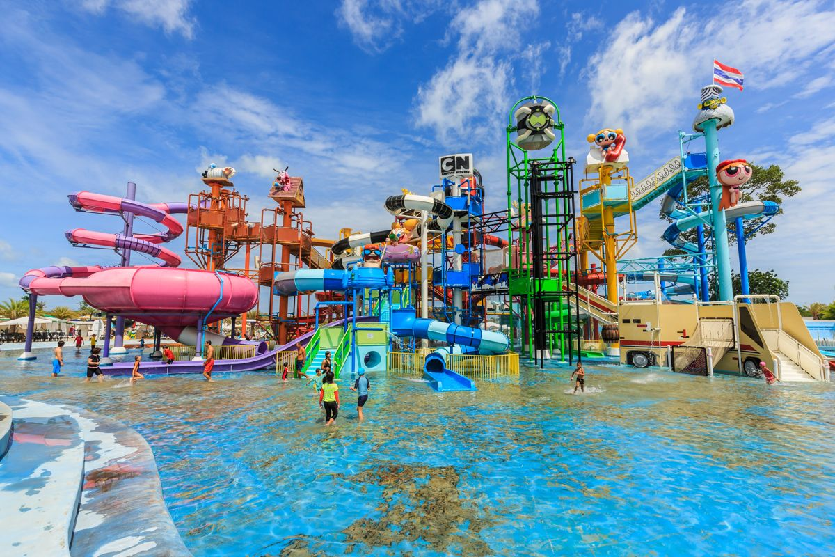 Cartoon Network Amazone Waterpark Let S Get Wet Pattaya Sanook