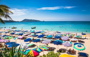 Beach on Phuket Thailand