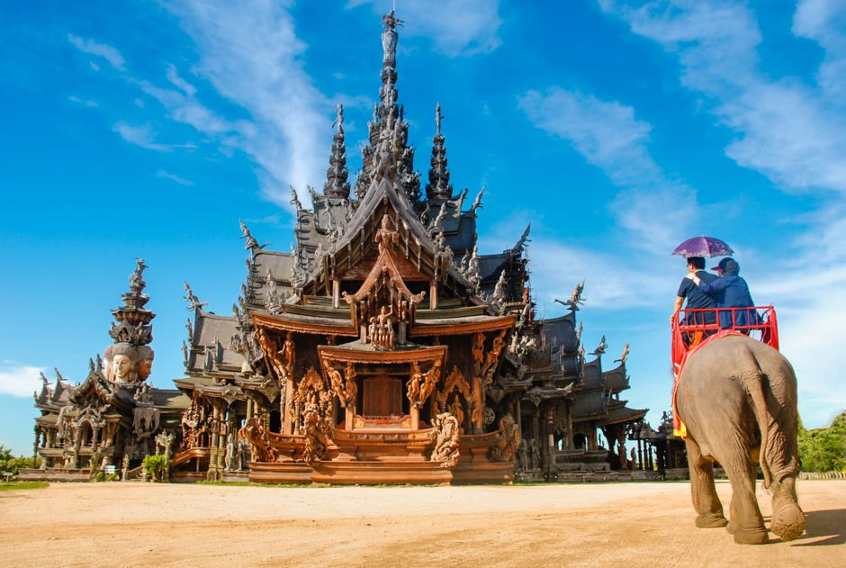 Sanctuary of Truth - Pattaya, Thailand