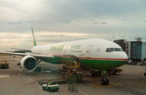 EVA Air 777-300ER LAX to TPE