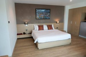 Adelphi Pattaya Premier Room Bed