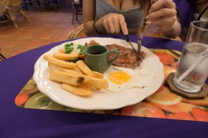 Jollys Restaurant Pattaya - Steak and Eggs
