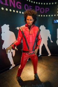 Michael Jackson at Louis Tussaud's Wax Works in Pattaya Thailand