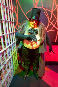 Wax Figure of The Penguin at Louis Tussaud's Wax Works Pattaya Thailand