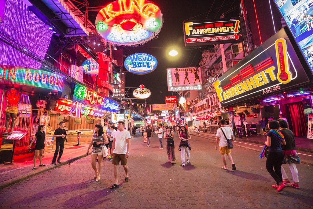 walking street south pattaya