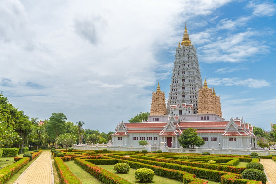Photo of temple at Wat Yan in Pattaya, Thailand